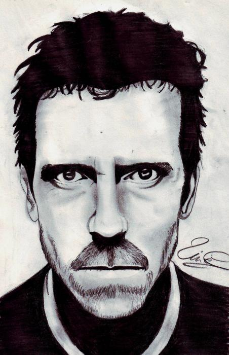 Hugh Laurie by shipie